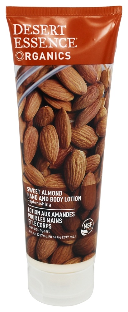 Desert Essence - Hand and Body Lotion Almond - 8 oz. LUCKY PRICE
