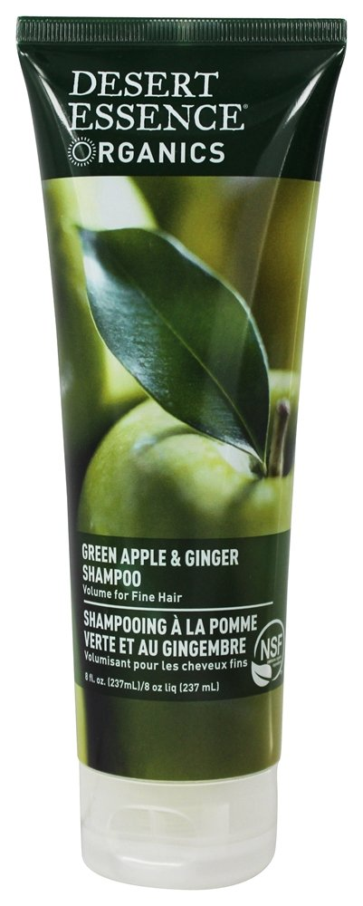 Desert Essence - Organics Thickening Shampoo Green Apple and Ginger - 8 oz. LUCKY PRICE