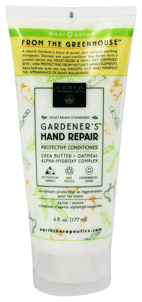Earth Therapeutics - Gardener's Hand Repair Protective Conditioner - 6 oz.