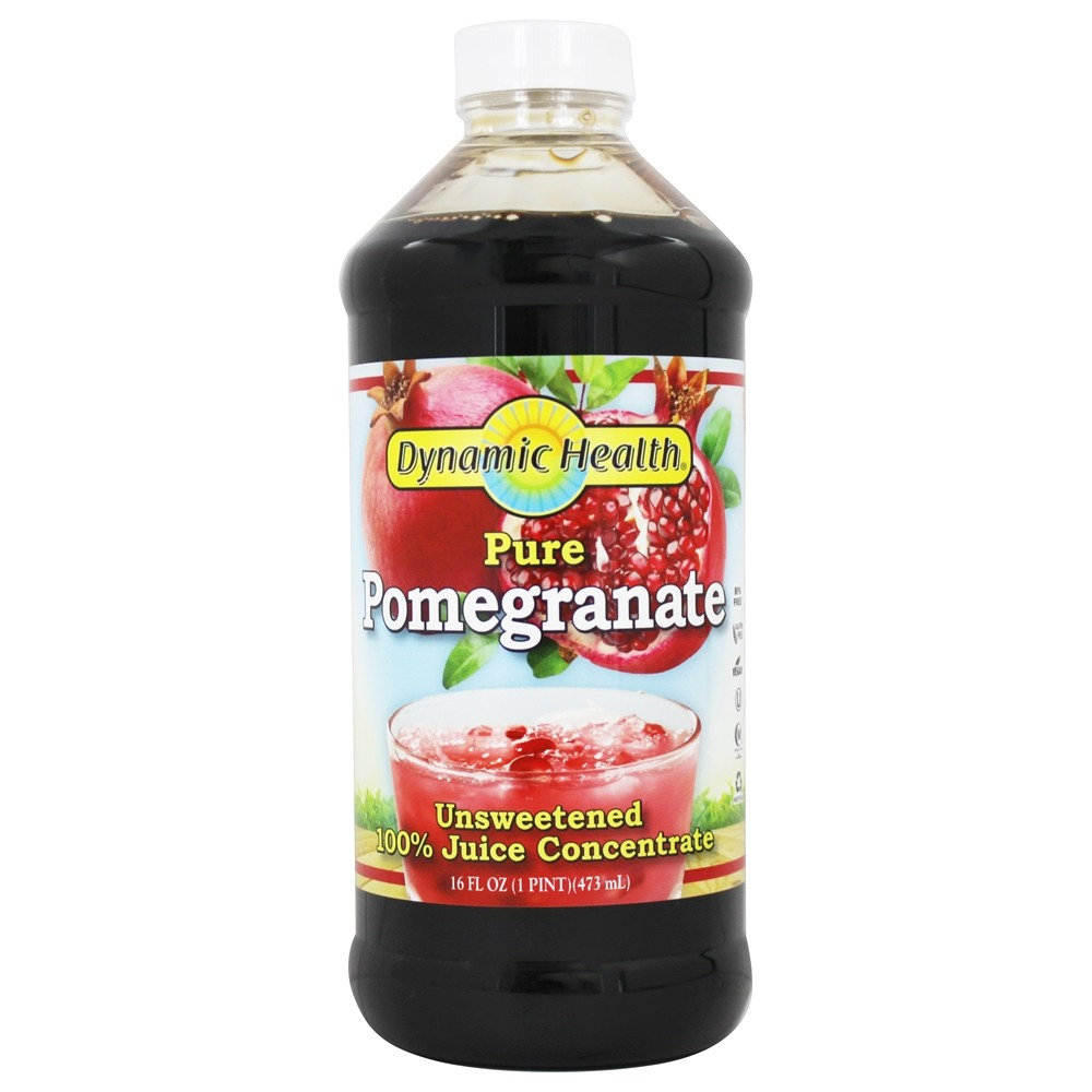 Dynamic Health - Juice Concentrate 100% Pure Pomegranate - 16 oz.