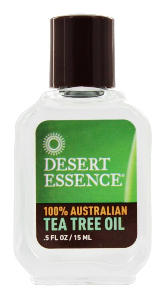 Desert Essence - Tea Tree Oil 100% Australian - 0.5 oz. LUCKY PRICE
