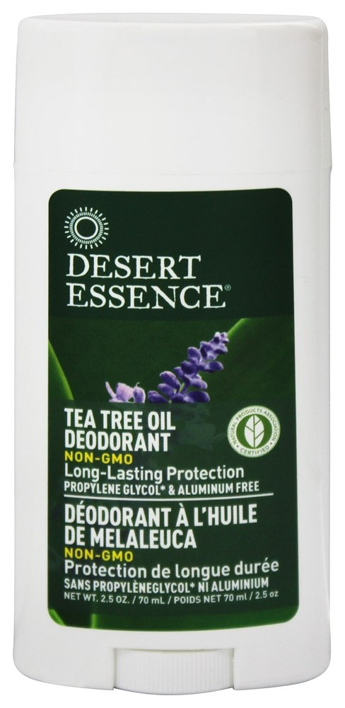 Desert Essence - Tea Tree Oil Deodorant With Lavender - 2.5 oz. LUCKY PRICE