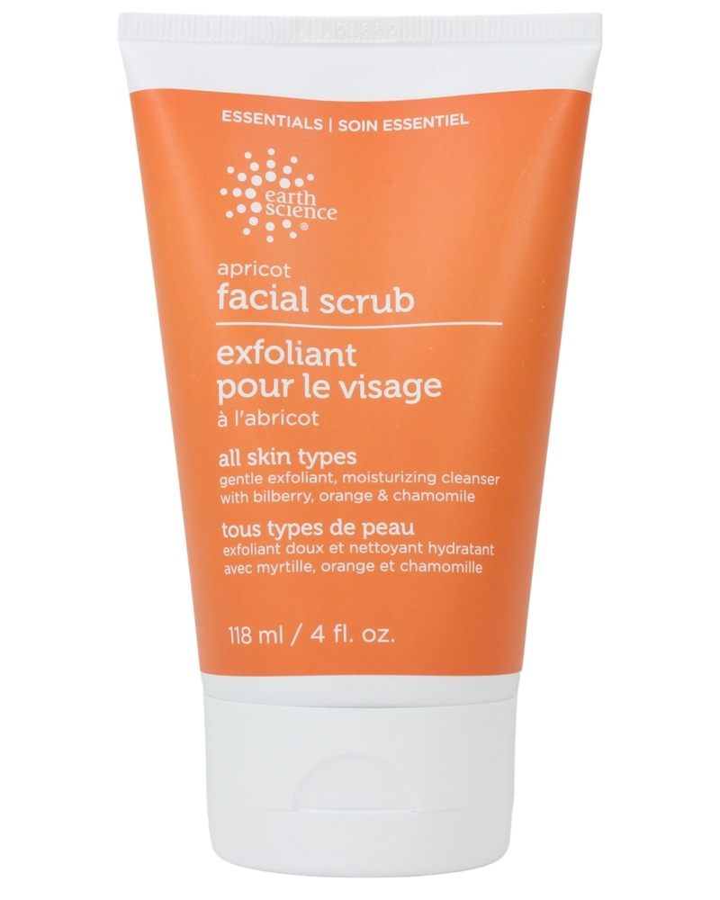 Earth Science - Facial Scrub Gentle Apricot - 4 oz.