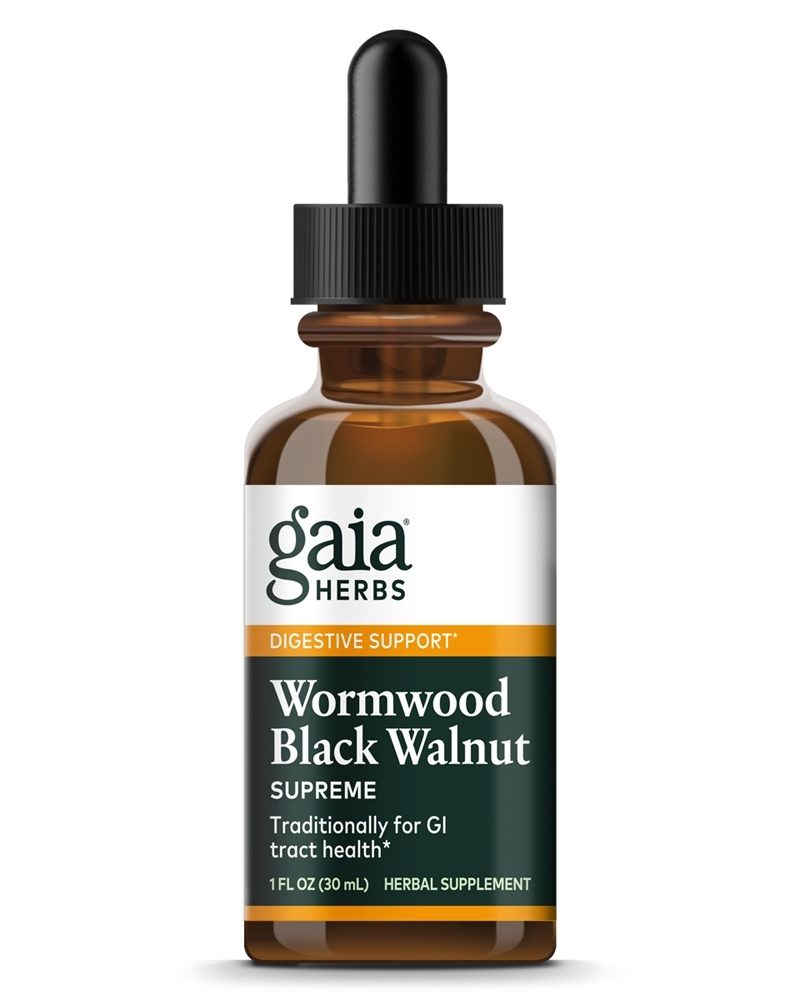 Gaia Herbs - WormWood Black Walnut Supreme - 1 oz.