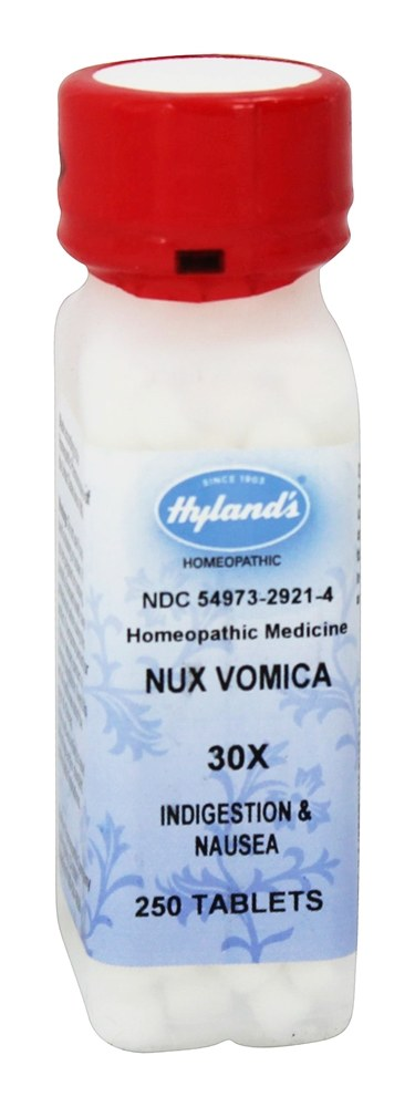 Hylands - Nux Vomica 30 X - 250 Tablets