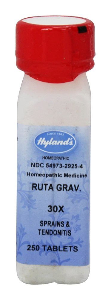 Hylands - Ruta Graveolens 30 X - 250 Tablets