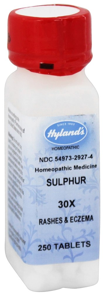 Hylands - Sulphur 30 X - 250 Tablets