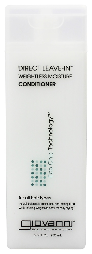 Giovanni - Conditioner Direct Leave-In Weightless Moisture For All Hair Types - 8.5 oz.