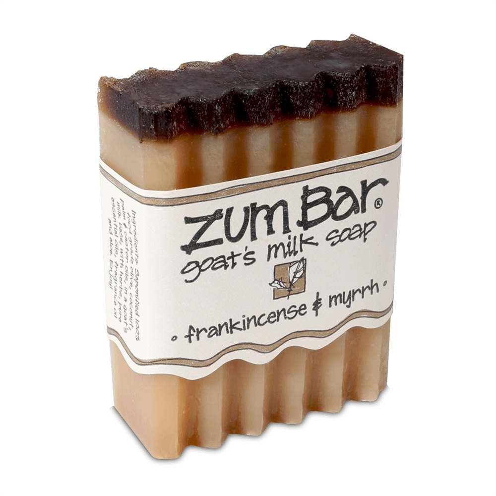 Indigo Wild - Zum Bar Goat's Milk Soap Frankincense & Myrrh - 3 oz.