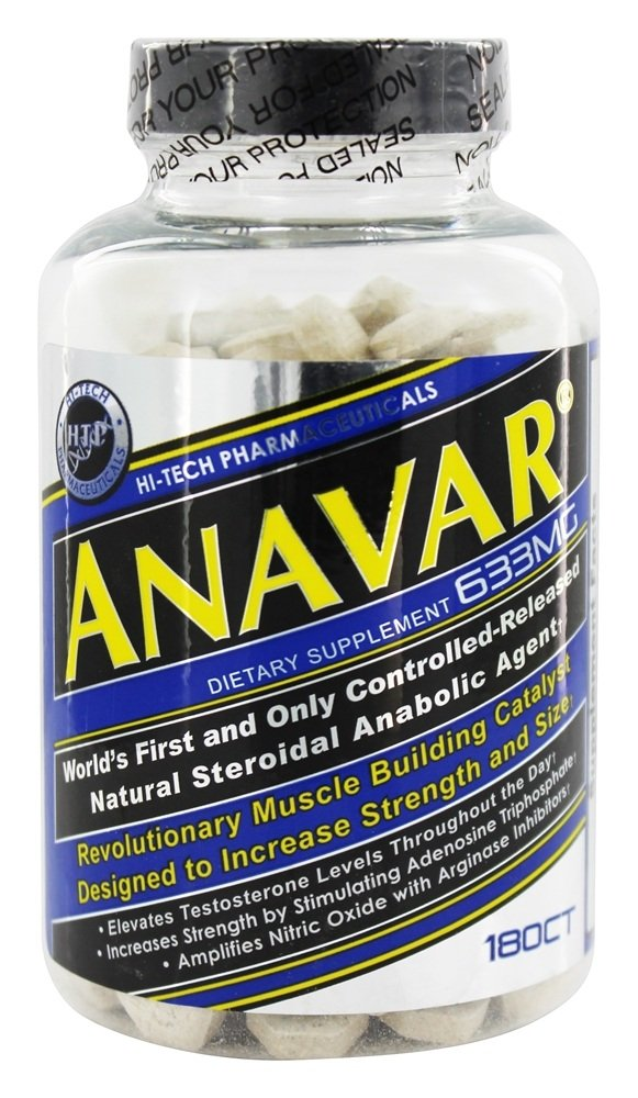 Hi-Tech Pharmaceuticals - Anavar Controlled-Released Natural Steroidal Anabolic Agent - 180 Tablets