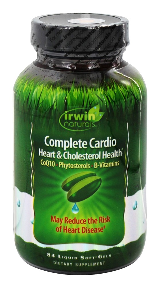 Irwin Naturals - Complete Cardio Heart & Cholesterol Health - 84 Softgels
