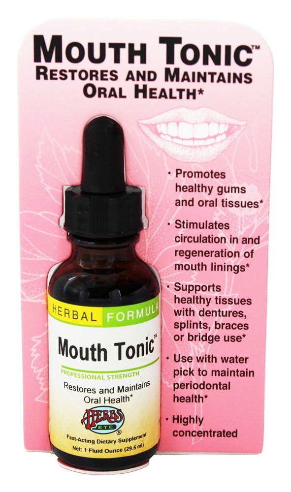 Herbs Etc - Mouth Tonic Professional Strength - 1 oz.