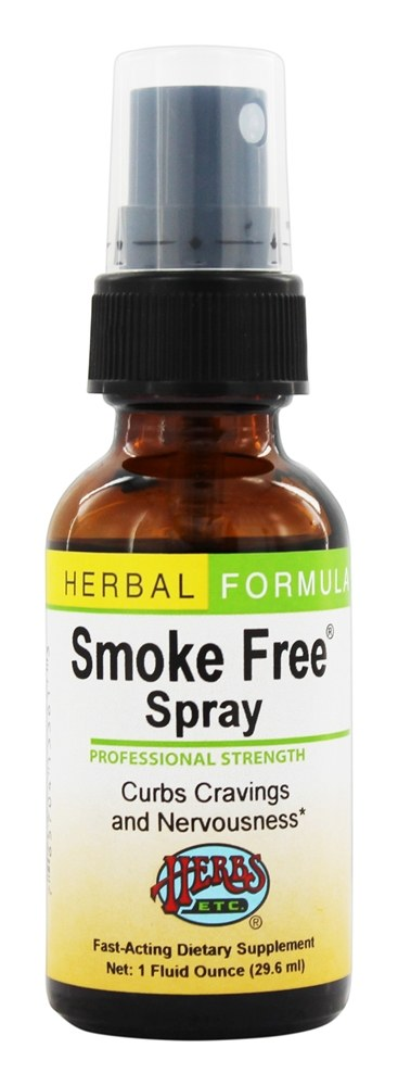 Herbs Etc - Smoke Free Spray Professional Strength - 1 oz.