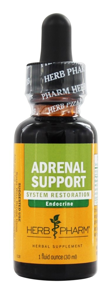 Herb Pharm - Adrenal Support Tonic Compound - 1 oz.