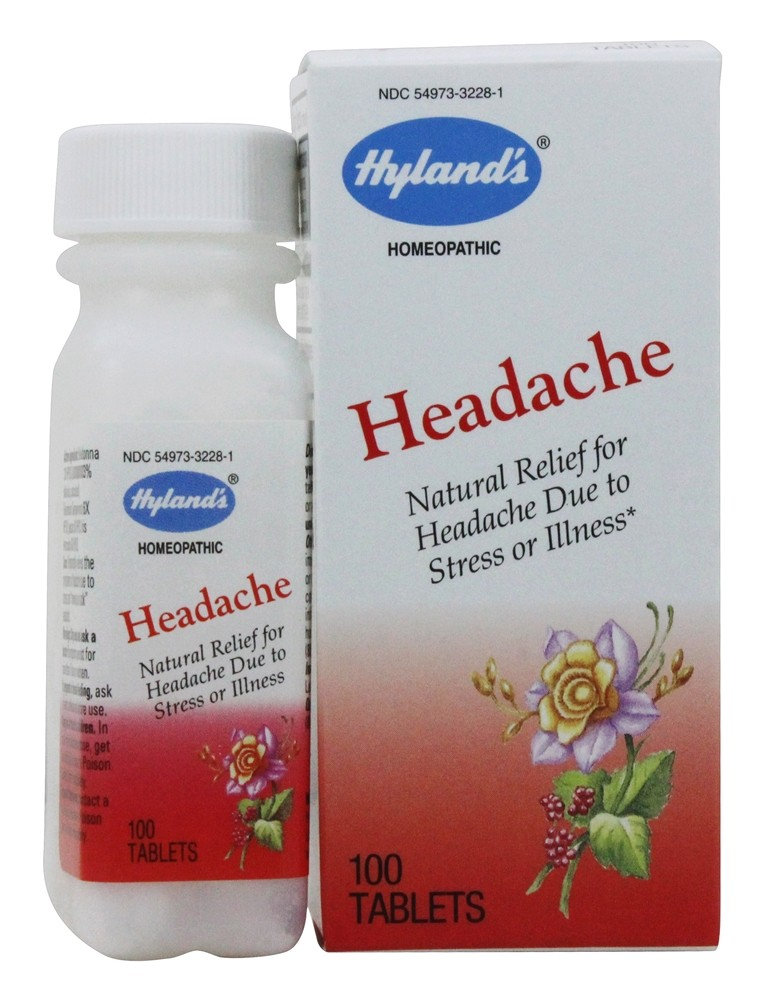 Hylands - Headache - 100 Tablets