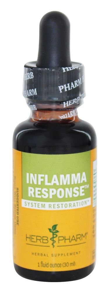 Herb Pharm - Inflamma Response Compound - 1 oz. formerly Turmeric Chamomile