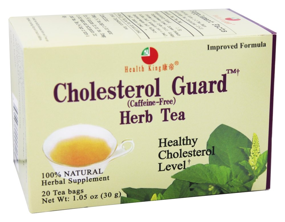 Health King - Cholesterol Guard Herb Tea - 20 Tea Bags