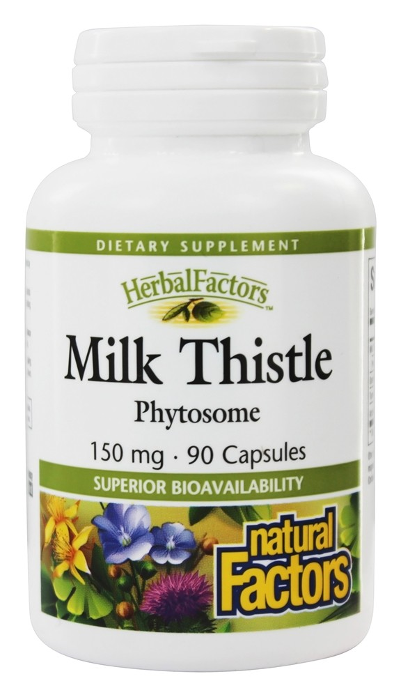 Natural Factors - Milk Thistle Phytosome 150 mg. - 90 Capsules