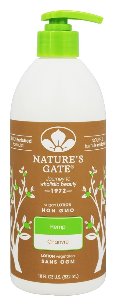 Nature's Gate - Vegan Lotion Hemp - 18 oz.
