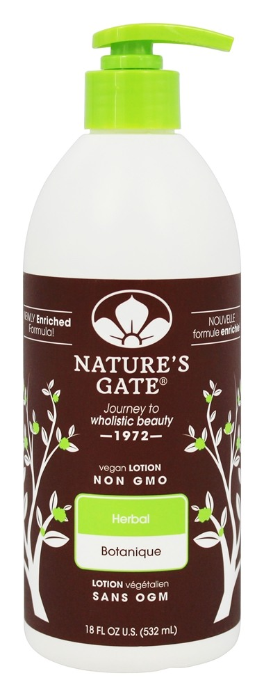 Nature's Gate - Vegan Lotion Herbal - 18 oz.