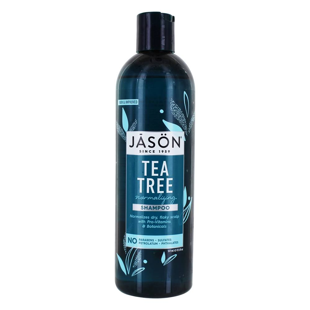 JASON Natural Products - Tea Tree Scalp Normalizing Shampoo - 17.5 oz.