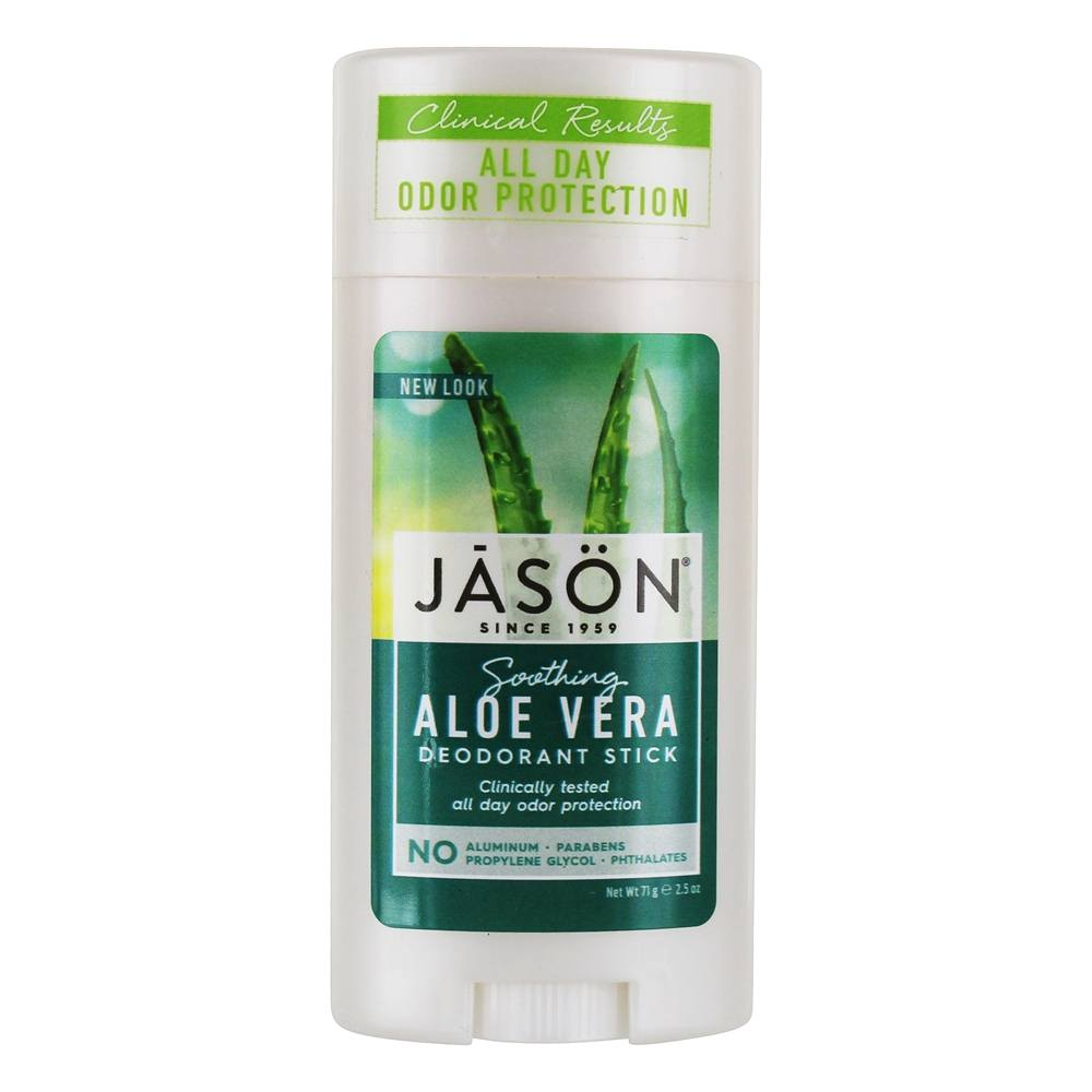 Jason Natural Products - Deodorant Stick Aloe Vera - 2.5 oz.