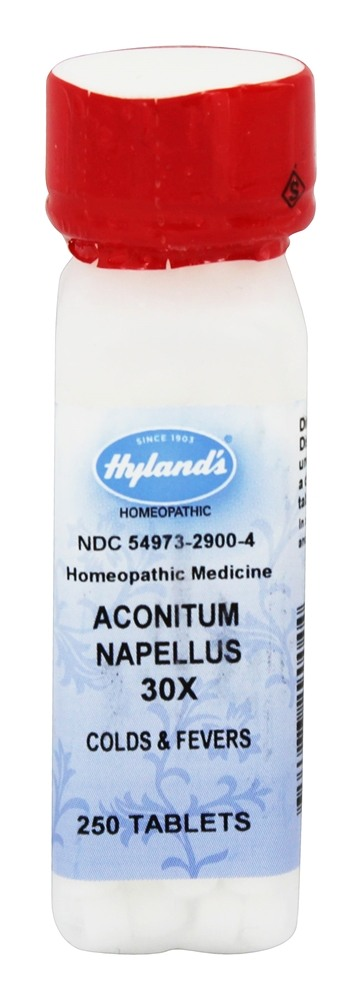 Hylands - Aconitum Napellus 30 X - 250 Tablets