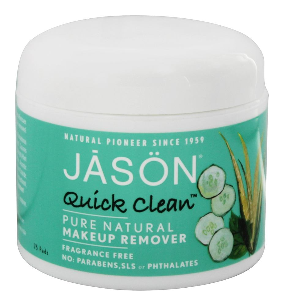 Jason Natural Products - Makeup Remover Quick Clean - 75 Pad(s)
