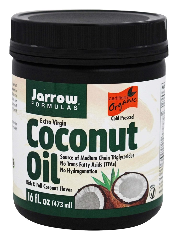 Jarrow Formulas - Extra Virgin Organic Coconut Oil - 16 oz.