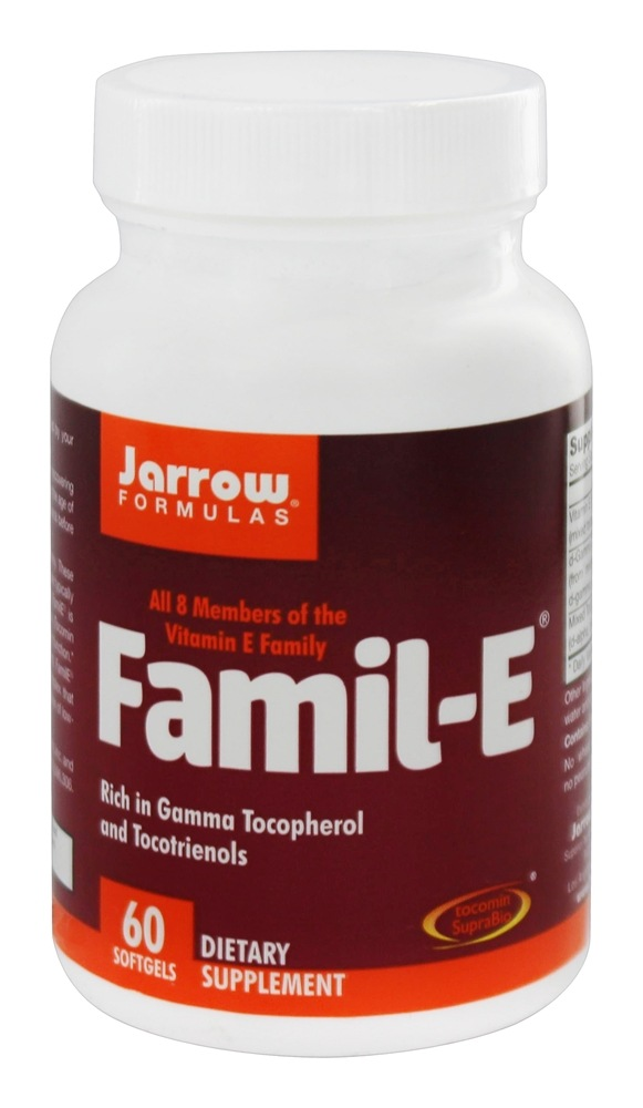 Jarrow Formulas - FamilE Antioxidant Supplement - 60 Softgels