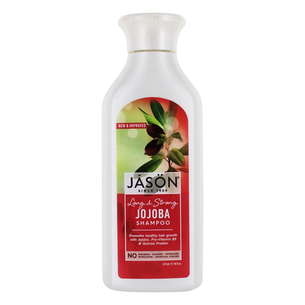 Jason Natural Products - Natural Jojoba Shampoo Scalp Balancing - 16 oz.