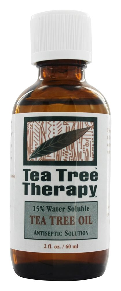 Tea Tree Therapy - 15% Water Soluble Tea Tree Oil Antiseptic - 2 oz.