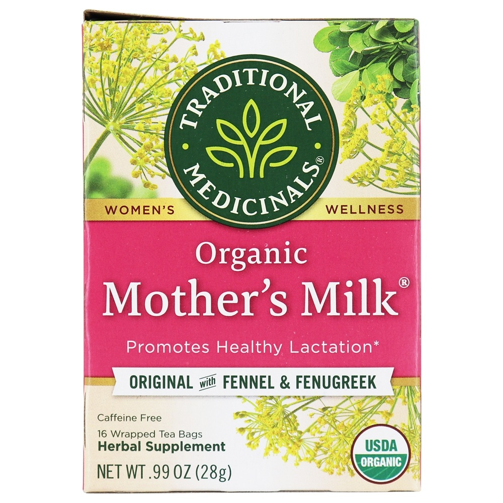 Traditional Medicinals - Organic Mother's Milk Tea - 16 Tea Bags