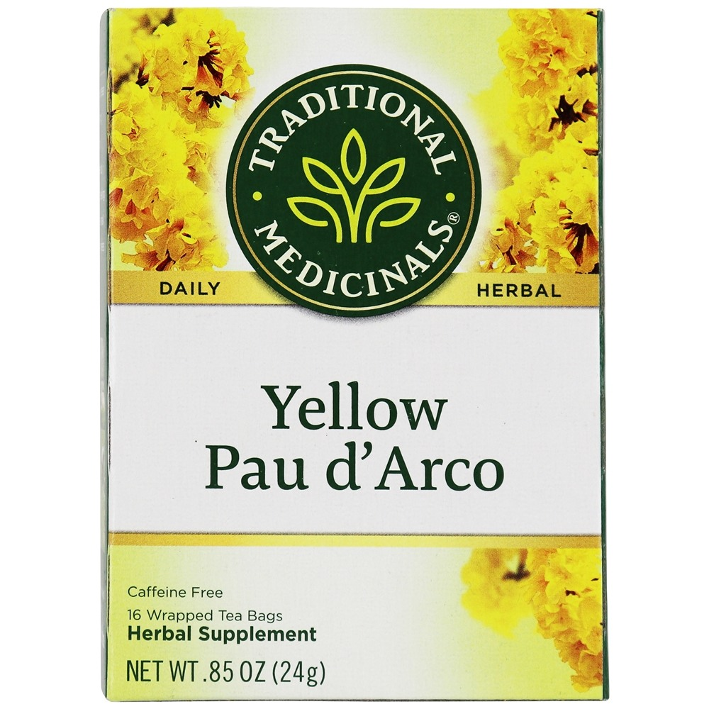 Traditional Medicinals - Pau d'Arco Tea - 16 Tea Bags