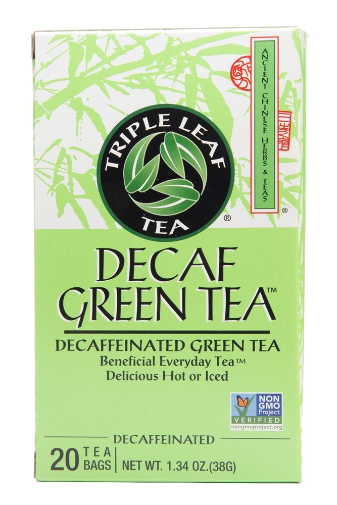 Triple Leaf Tea - Decaf Green Tea - 20 Tea Bags