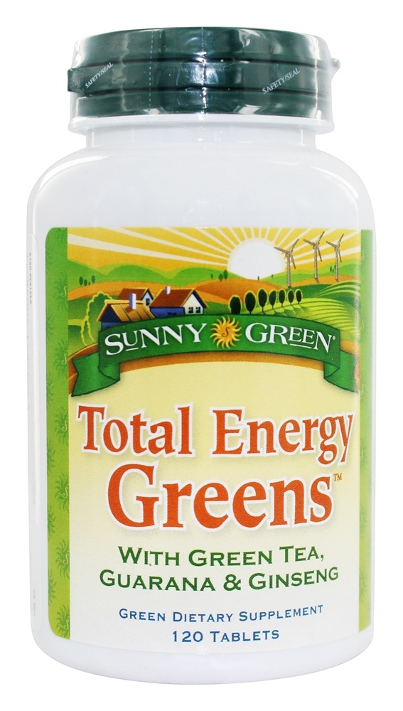 Sunny Green - Total Energy Greens - 120 Tablets