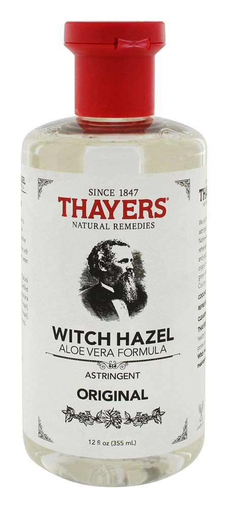 Thayers - Witch Hazel Astringent Original with Aloe Vera - 12 oz.
