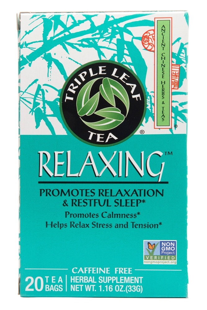 Triple Leaf Tea - Relaxing Tea - 20 Tea Bags