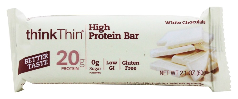 Think Products - thinkThin Protein Bar White Chocolate - 2.1 oz.