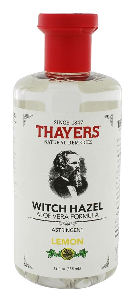Thayers - Witch Hazel Astringent with Aloe Vera Formula Lemon - 12 oz.