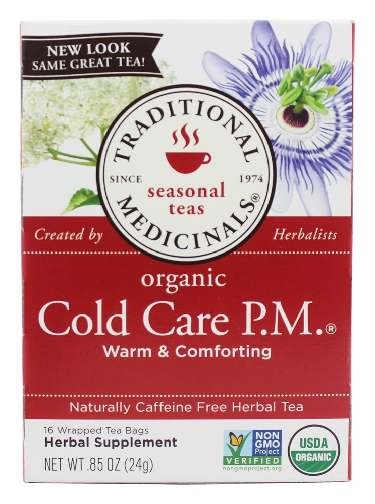 Traditional Medicinals - Cold Care P.M. Tea - 16 Tea Bags