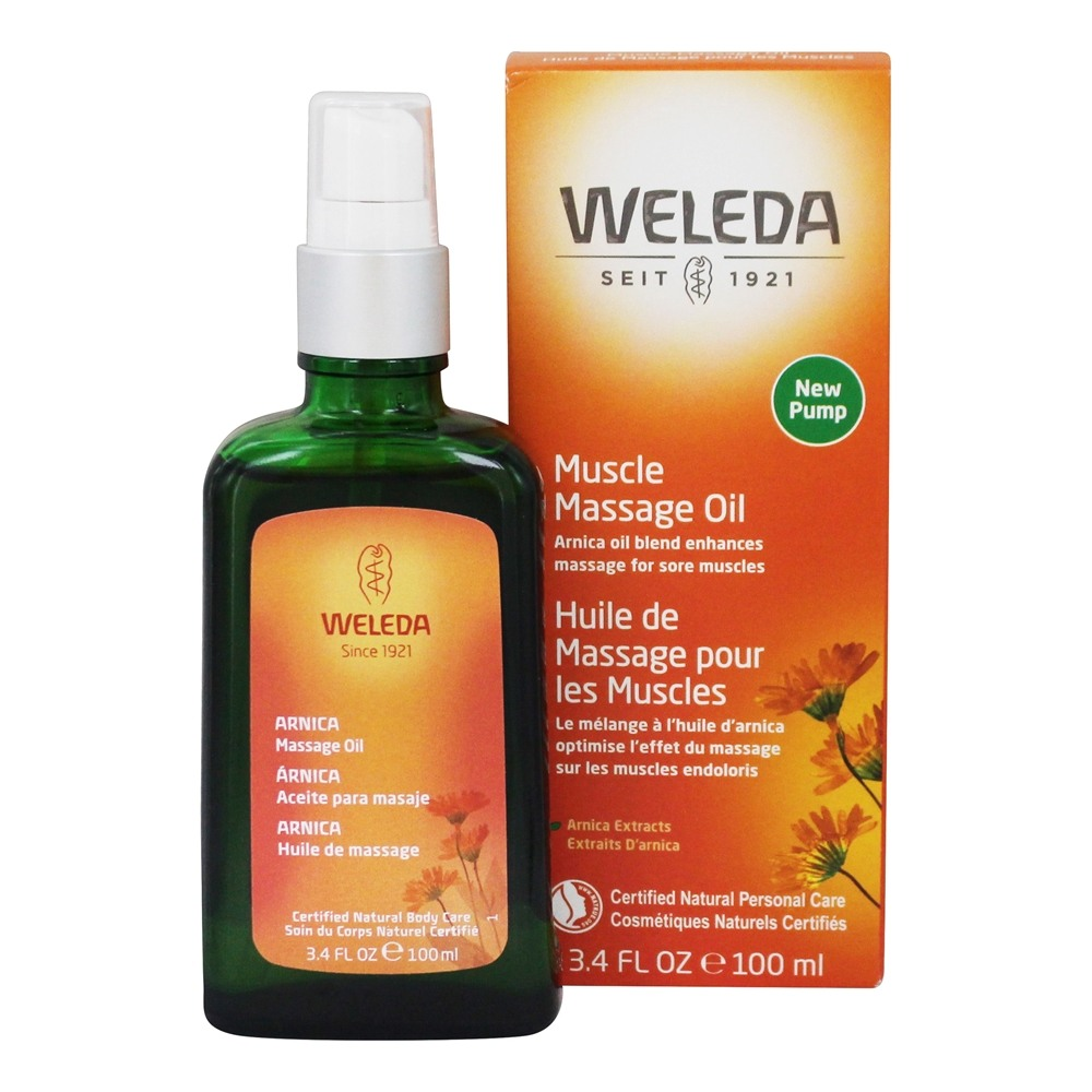Weleda - Arnica Massage Oil - 3.4 oz.