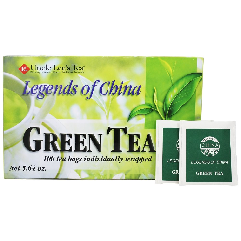 Uncle Lee's Tea - Legends Of China Green Tea - 100 Tea Bags