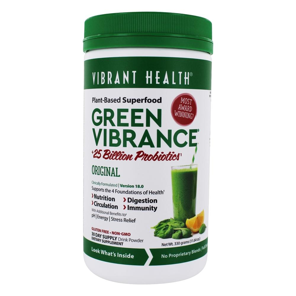Vibrant Health - Green Vibrance Version 14.0 Daily Superfood - 12.8 oz.