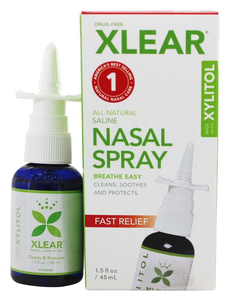Xlear - Sinus Nasal Spray with Xylitol - 1.5 oz.