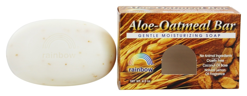 Rainbow Research - Aloe-Oatmeal Bar Soap Animal Free - 4.2 oz.