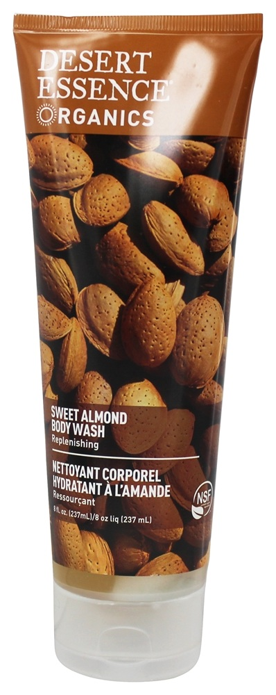 Desert Essence - Body Wash Sweet Almond - 8 oz. LUCKY PRICE