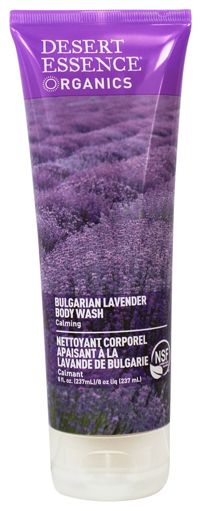 Desert Essence - Body Wash Bulgarian Lavender - 8 oz. LUCKY PRICE