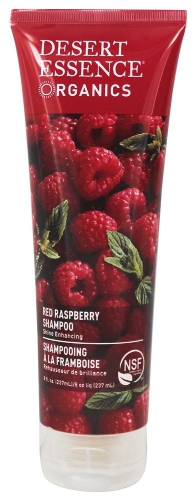 Desert Essence - Organics Shampoo For Shine Enhancing Red Raspberry - 8 oz. LUCKY PRICE