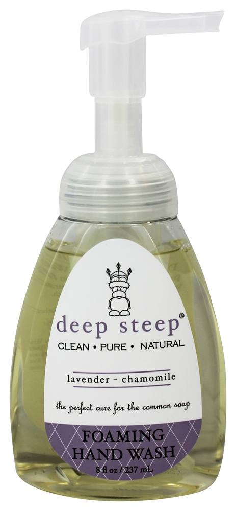 Deep Steep - Foaming Handwash Lavender Chamomile - 8 oz.